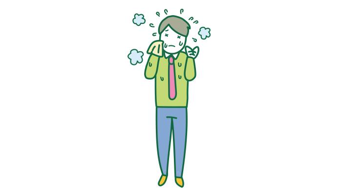 病気 汗 かき 汗かきになりやすい原因、病気かも知れない5つ法則